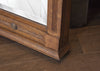 Antique Oak Mirror (details)