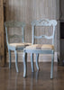 Antique Hand Painted Side Chair (pair)
