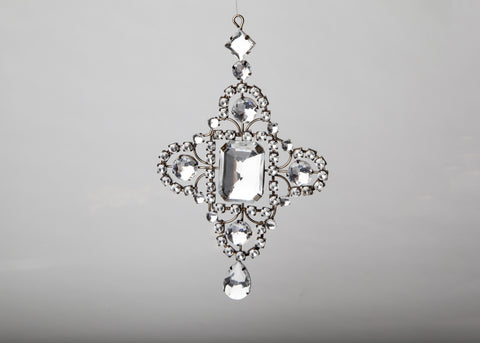 Delicate Crystal Antique Ornament
