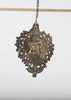 Antique Tin Heart Ornament