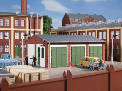 Auhagen 11438 HO Gauge Warehouse Plastic Kit