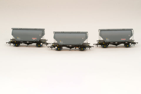 Accurascale 2022STS-C OO Gauge STS PCA Cement Wagon Triple Pack C