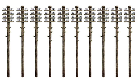 Ratio 211 N Gauge Telegraph Poles Kit