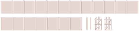 Ratio 219 N Gauge Concrete Fencing & Gates Kit