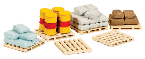 Ratio 221 N Gauge Pallets Sacks & Barrels Kit