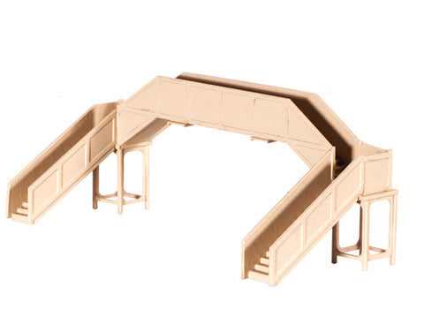 Ratio 222 N Gauge Concrete Footbridge Kit