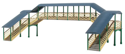Ratio 248 N Gauge Modular Covered Station Footbridge Kit