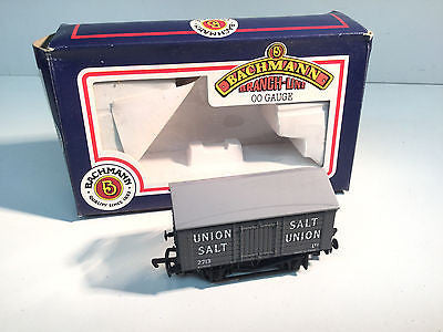 Bachmann 33-180 OO Gauge 10t Covered Salt Wagon Union Salt