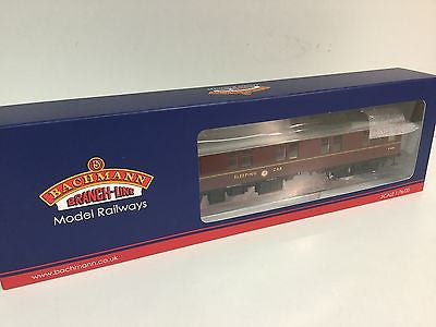 Bachmann 39-502 OO Gauge BR Mk 1 Sleeping Car Second Class Maroon M2635