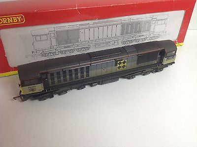 Hornby R2252 OO Gauge Class 58 No 58050 Coal Sector Livery (Factory Weathered)