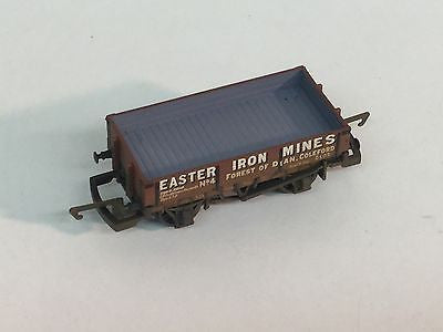 Hornby R6278 OO Gauge 3 Plank Open Wagon Easter Iron Mines 4 Factory Weathered