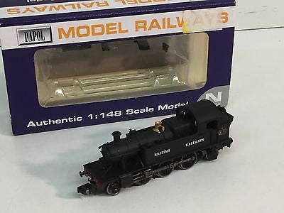 Dapol ND-024 N Gauge 45xx Straight Tank 4571 BR Black