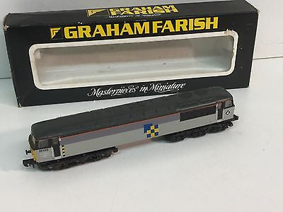 Graham Farish 8056 N Gauge Class 56 No 56059 Construction Sector Livery