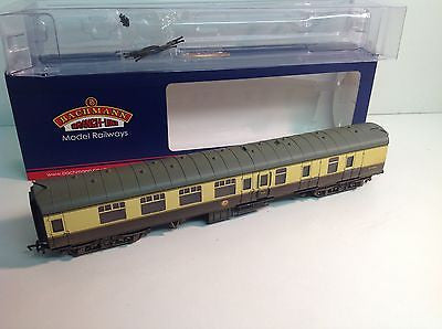 Bachmann 39-079C BR Mk 1 BSK Brake 2nd Corr Choc/Cream W34303 Factory Weathered