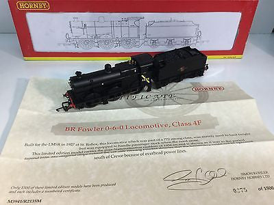 Hornby R2135(M) OO Gauge BR Class 4F 44313 BR Black - LIMITED EDITION