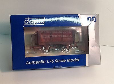 Dapol 4F-072-002 OO Gauge 7 Plank Open Grazebrook Dudley Weathered