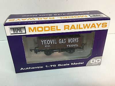 Dapol OO Gauge 7 Plank Wagon Yeovil Gas Works - Buffers Special Edition