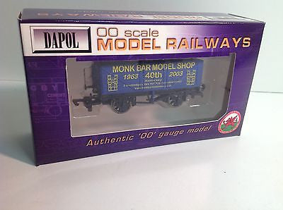 Dapol OO Gauge 7 Plank Wagon Monk Bar Model Shop 40th Anniv