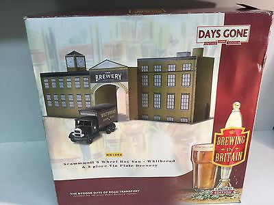 Lledo BB1002 Brewing in Britain 1:76 Scale Whitebread Brewery and Truck