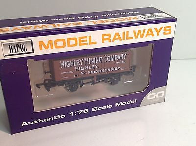 Dapol OO Gauge 7 Plank Wagon Highley 246 LIMITED EDITION OF 100 SVR