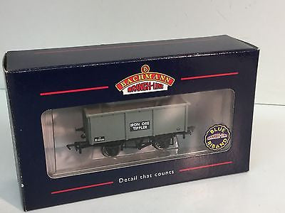 Bachmann 37-275 OO Gauge 27t Steel Tippler Wagon Iron Ore BR Grey