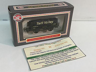 Dapol TVR2 OO Gauge 7 Plank Wagon Teifi Valley No 285 - LIMITED EDITION
