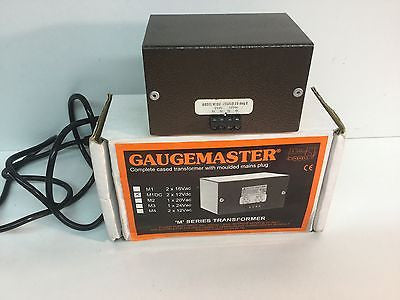 Gaugemaster Model M1DC Cased Transformer 12v DC