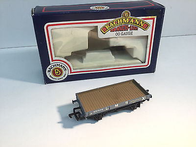 Bachmann 33-403 OO Gauge 1 Plank Wagon Finished as LMS 231446