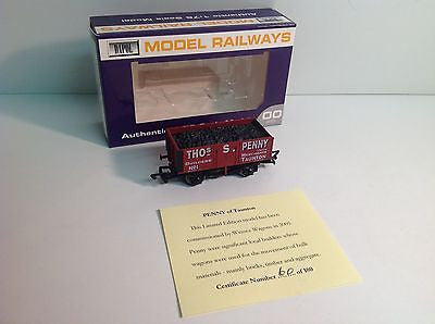 Dapol/Wessex Wagons OO Gauge 7 Plank Open Thos S. Penny Taunton