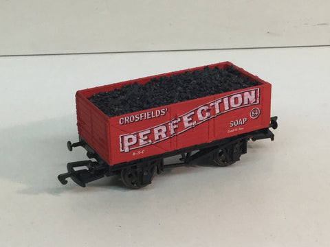 Dapol B536 OO Gauge 7 Plank Wagon Crosfields Perfection Soap