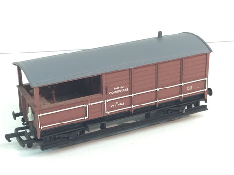 Bachmann 33-304 OO Gauge WR Toad Brake Van BR W114961 Brown