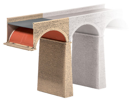 Ratio 252 N Gauge Extra Arch & Pier Kit