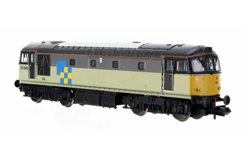 Dapol 2D-001-007D N Gauge Class 33 042 Railfreight Construction (DCC-Fitted)