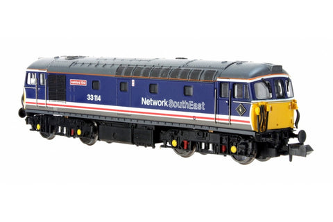 Dapol 2D-001-022D N Gauge Class 33 114 'Ashford 150' Network South East (DCC-Fitted)