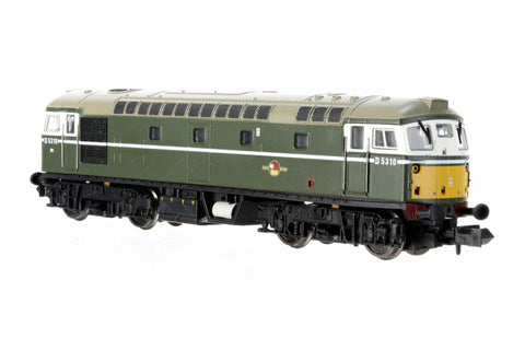 Dapol 2D-028-002D N Gauge Class 26 D5310 BR Green SYP Preserved (DCC-Fitted)