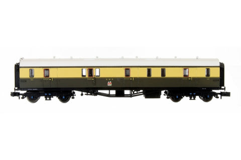 Dapol 2P-000-310 N Gauge Collett Coach GWR Crest Chocolate/Cream Full Brake 101