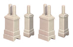 Ratio 307 N Gauge Chimney Stacks & Chimney Pots Kit