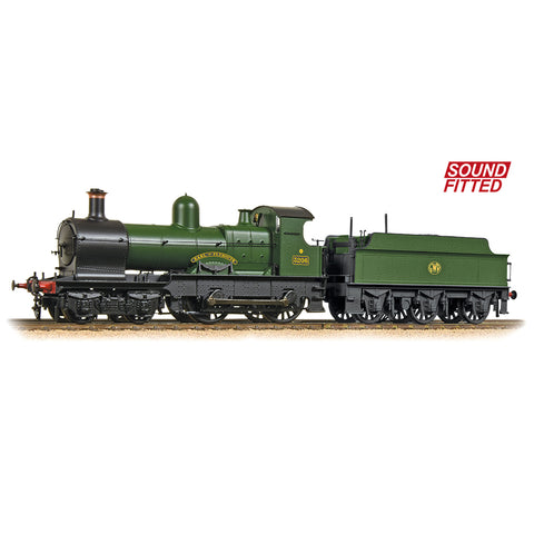 Bachmann 31-090DS OO Gauge GWR Green 32xx 3206 Earl of Plymouth DCC SOUND
