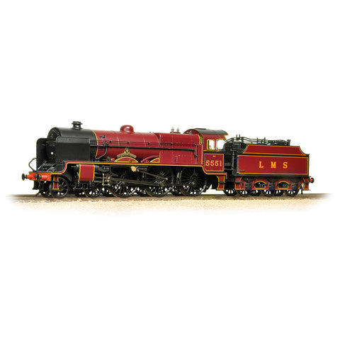 Bachmann 31-215 OO Gauge LMS 5XP 'Patriot' 5551 'The Unknown Warrior' LMS Crimson