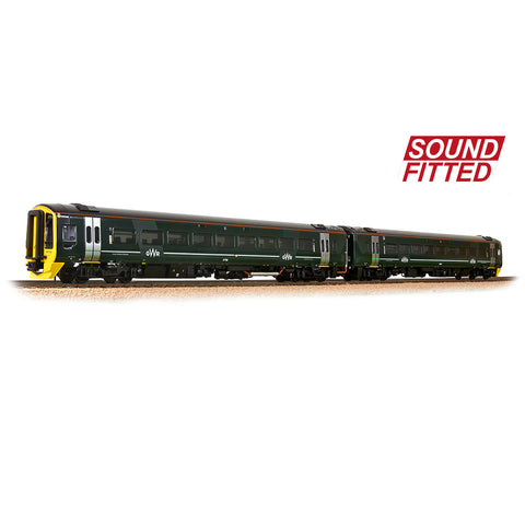 Bachmann 31-519SF OO Gauge GWR Class 158 2 Car DMU DCC SOUND