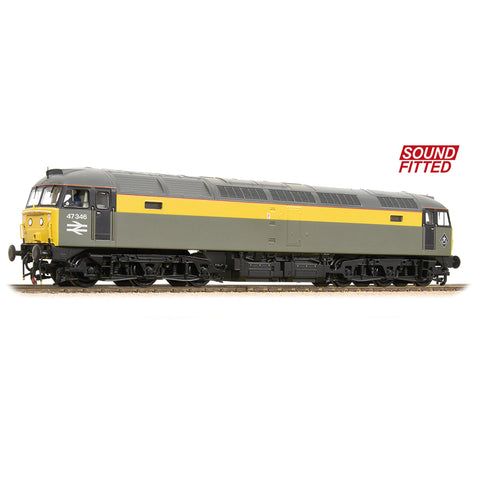 Bachmann 31-661DS OO Gauge BR Engineers Class 47 No 47346 DCC SOUND