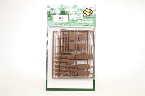 Ratio 311 N Gauge Doors