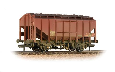 Bachmann 33-131 OO Gauge BR 35T Bulk Grain Hopper BR Freight Brown (BRT) - Weathered