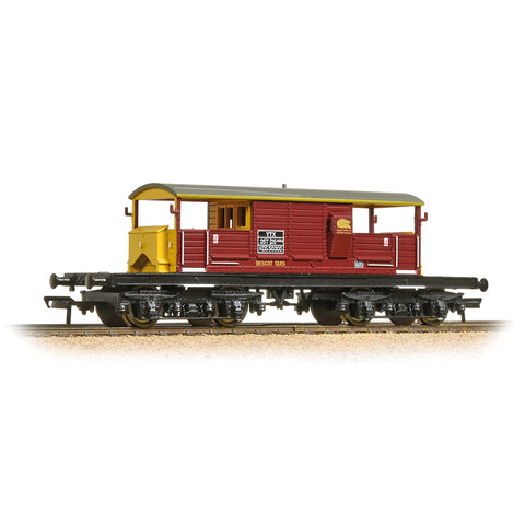 Bachmann 33-832 OO Gauge EWS Queen Mary Brake Van