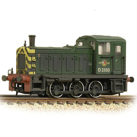 Graham Farish 371-063 N Gauge BR Green Class 03 No D2383