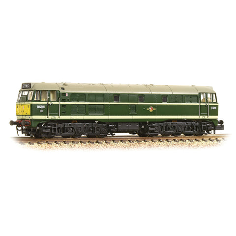 Graham Farish 371-111A N Gauge Class 31/1 D5616 BR Green (Small Yellow Panels)