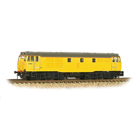 Graham Farish 371-137 N Gauge Class 31/6 Refurbished 31602 Network Rail Yellow