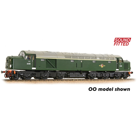 Graham Farish 371-180ASF N Gauge Class 40 Disc Headcode D248 BR Green (Late Crest) DCC SOUND