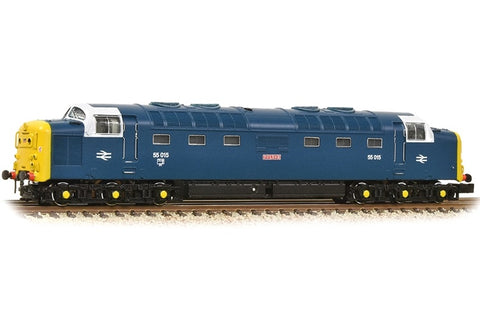 Graham Farish 371-288 N Gauge Class 55 55015 'Tulyar' BR Blue With White Cab Window Surr.