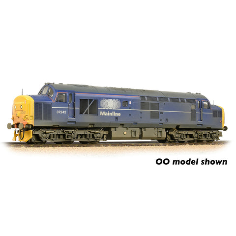 Graham Farish 371-472 N Gauge Class 37/0 Centre Headcode 37242 Mainline Freight [W]